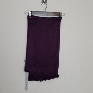 Charming Charlie plum scarf
